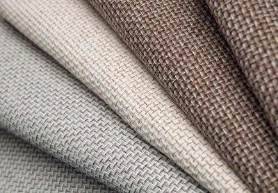 Обивка №29💎 Мебельные ткани и Кожзам (+комплектующие) — Мебельная ткань SCANDINAVIA (Рогожка) — Мебельная фурнитура