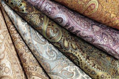 Обивка №29💎 Мебельные ткани и Кожзам (+комплектующие) — Мебельная ткань SANSARA (Жаккард) — Шторы