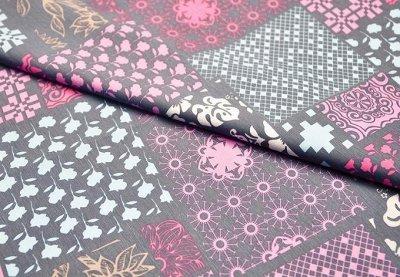 Обивка №29💎 Мебельные ткани и Кожзам (+комплектующие) — Мебельная ткань PATCHWORK (Скотчгард) <ширина 280см.> — Ткани