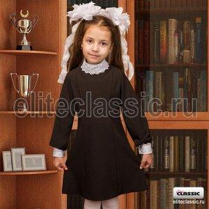 Платье школьное Черный