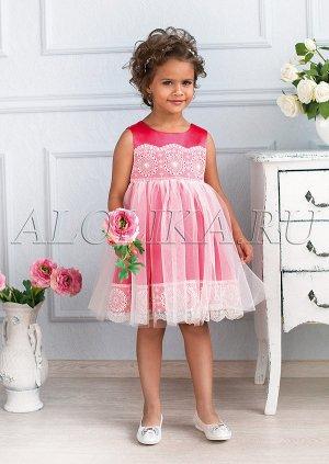 Восхитительное нарядное платье для маленьких принцесс