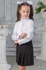 Школьная юбка Нэнси, цвет черный