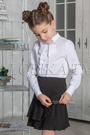 Школьная юбка Фэй, цвет черный