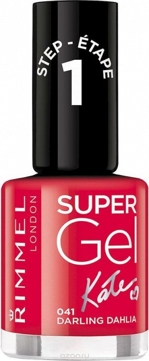 Rimmel Super Gel Ж Товар Kate nail polish гель-лак для ногтей, тон 041 12 мл