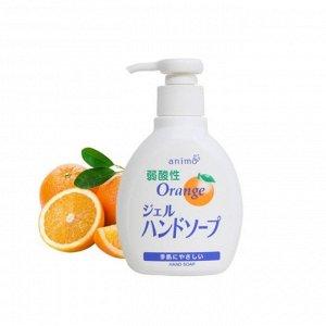 Гель-мыло для рук с ароматом апельсина