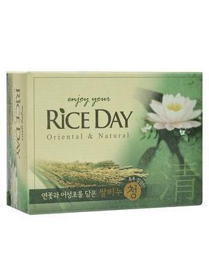 Мыло т. LION Korea RICE DAY 100гр Экстракт Лотоса