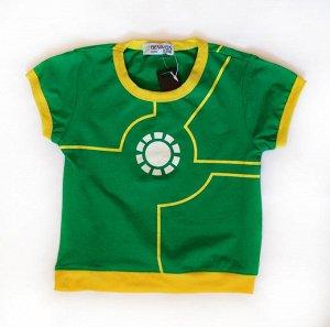 Футболка Железный человек зеленая
