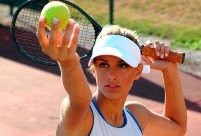 45*Товары для спорта, туризма и путешествий* — Все для бадминтона, тенниса и других спортивных игр — Теннис