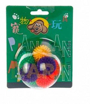 Игрушка Шарики (для кошек) с запахом ванили (3,3см)