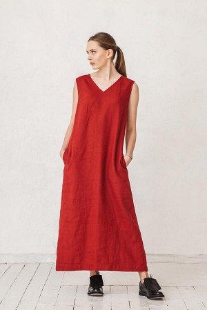 Платье, лён!