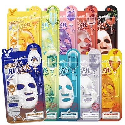 Хиты корейской косметики! Новинки! Косметика из Таиланда! — Тканевые и альгинатные маски для лица/шеи — Для лица