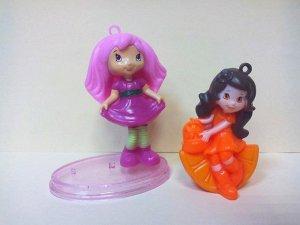 """Набор фигурок девочек из мультфильма """"Ягодный пирог: Шарлотта-земляничка"""""""