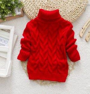 Новая теплая водолазка - свитер