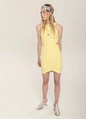 платье  желтое  - ИТАЛИЯ-KORALLINE -44-46 размер ЕСТЬ  ФОТО