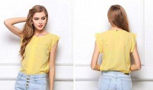 Блуза, короткий рукав