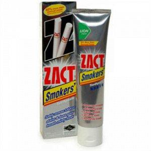 "LION ""Zact"" Зубная паста 100гр для курящих (Smokers) Таиланд"