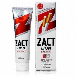 """CJ LION  """"Zact Lion"""" Зубная паста 150гр для курящих (отбеливание) /40/"""