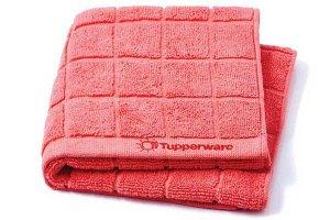 Полотенце для сушки посуды из микрофибры - Tupperware®цв.красный