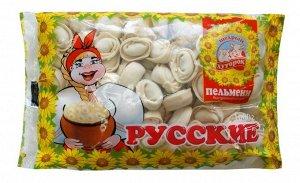 """Пельмени """"Русские """"Щедрый Хуторок"""" 900г (1/10)"""