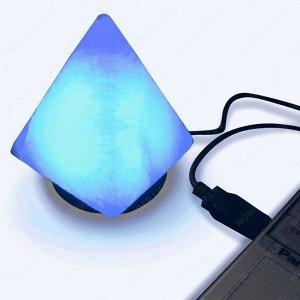Лампа солевая из гималайской соли