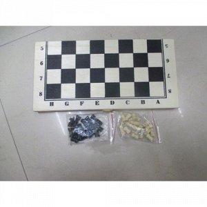 Игра настольная Шахматы (дерево), пак 34*17см