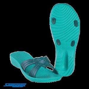 """Туфли пляжные женские """"Диана""""  незаменимый атрибут пляжного гардероба. Подошва выполнена из уникального материала ЭВА на основе"""