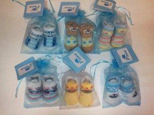 Подарочные носочки для мальчиков в красивом мешочке