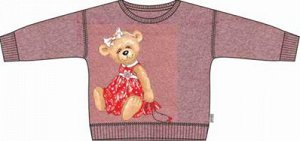 Джемпер + юбка детский трикотажный для девочки