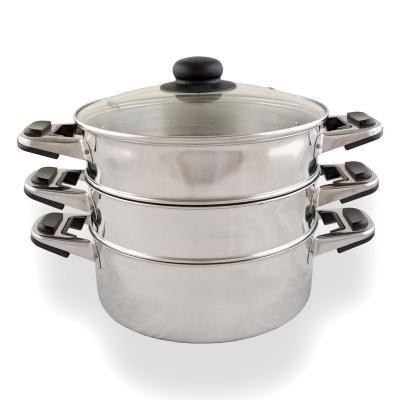 Катунь-посуда из нержавеющей стали - 93 — Мантоварки — Посуда
