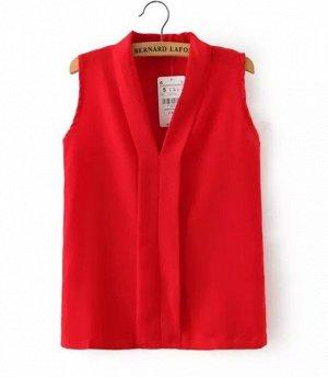 Блуза в офис яркая, стильная