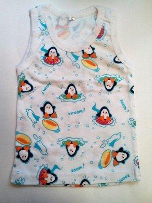 Майка с пингвинчиками