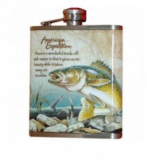 Фляжка Рыба 210 мл А02-1