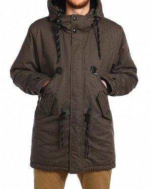 Куртка удлиненная на утеплителе