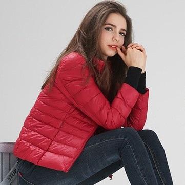 Ультралегкие пуховики — Женские ультралёгкие куртки — Ветровки и легкие куртки