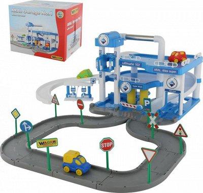 Полесье. Любимые игрушки из пластика. Успеем до повышения — Паркинги, гаражи — Машины, железные дороги