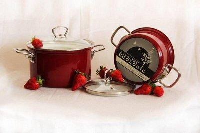 💥Успеваем!Вся посуда из Чехии!Традиция,качество.Аналогов нет — Eco-ceramic-уникальная технология Symbio!Сохраняем витамины  — Кастрюли