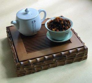 Чай с шелковицей черный