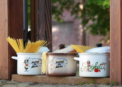💥Успеваем!Вся посуда из Чехии!Традиция,качество.Аналогов нет — Высокие кастрюли   SPAGHETTI. Толщина металла1,2 mm — Кастрюли