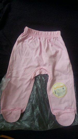 Качественные штанишки 62 размер 100%хб, на девочку! Швы наружу.