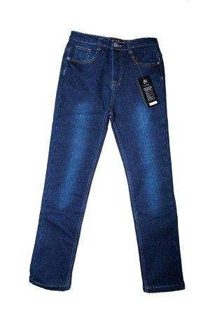 Брюки 13537 джинс утепленные для юношей