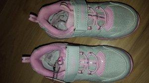 Кроссовки для девочки р-р 26 с ортопедической стелькой