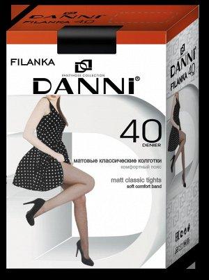 Женские колготки DANNI Filanka 40