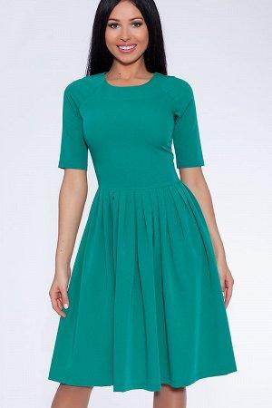 Зеленое платье 52 р