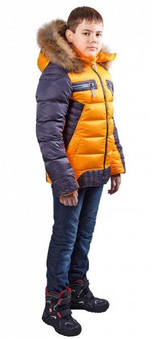 Супер тёплая зимняя куртка