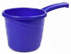 Ковш 1,3л Ковш 1,3л [PRACTIC] ЛАЗУРНО-СИНИЙ. Незаменимый в быту ковш Practic на 1,3 литра приятно разнообразит ассортимент вашей продукции яркими, сочными красками. Дача, баня, ванная комната, кухня,