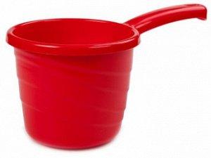 Ковш 1,3л Ковш 1,3л РОЗА [PRACTIC]. Незаменимый в быту ковш Practic на 1,3 литра приятно разнообразит ассортимент вашей продукции яркими, сочными красками. Дача, баня, ванная комната, кухня, детские и
