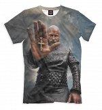 Мужская футболка  Рагнар Лодброк  VIK-662101-fut-2  , Коллек