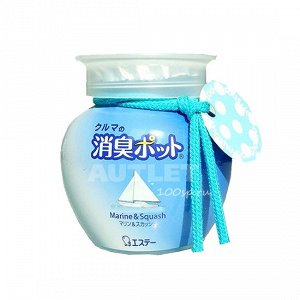 """""""ST"""" """"Shoushuu Pot"""" Ароматизатор автомобильный, ароматом моря и свежевыжатых цитрусовых, 150 гр"""