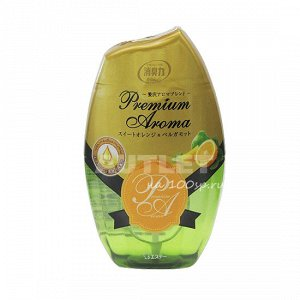 """ST"" ""Shoushuuriki"" Жидкий дезодорант – ароматизатор для комнат с ароматом сладкого апельсина и бергамота, 400 мл"