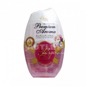 """ST"" ""Shoushuuriki"" Жидкий дезодорант – ароматизатор для комнат с ароматом фиалки и магнолии, 400 мл"